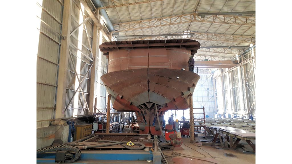 Semi Submarine Construction (2)