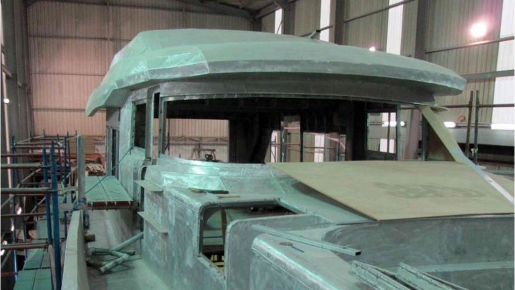 Aluminum Structure Motoryacht (21)