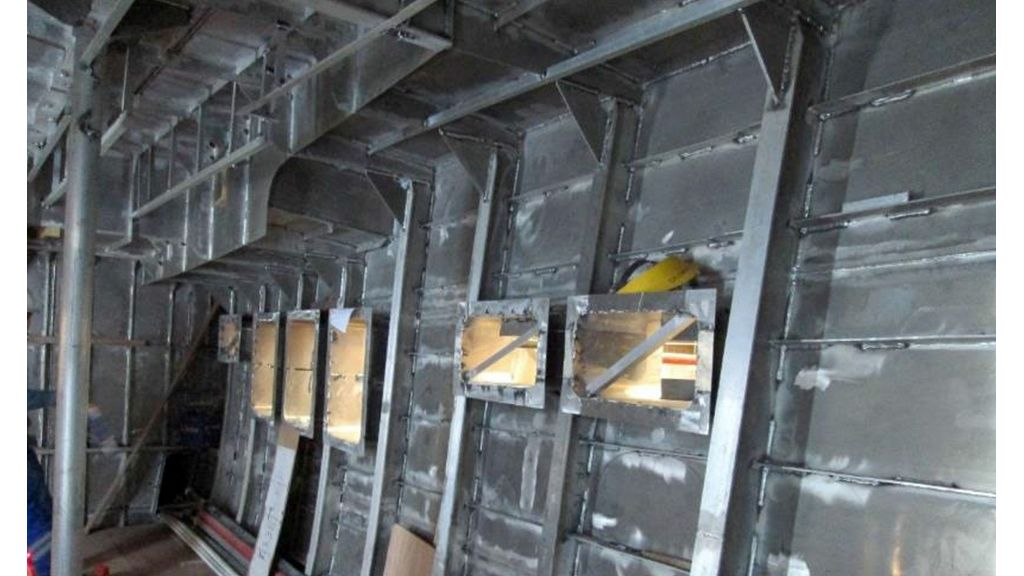 Aluminum Structure Motoryacht (29)