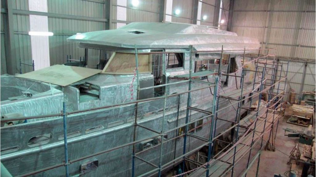 Aluminum Structure Motoryacht-master
