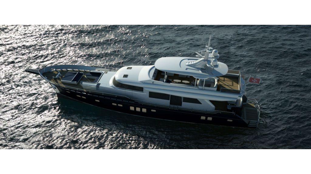 Aluminum Structure Motoryacht master