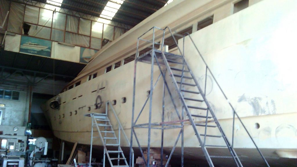 Aluminium Hull Baglietto master