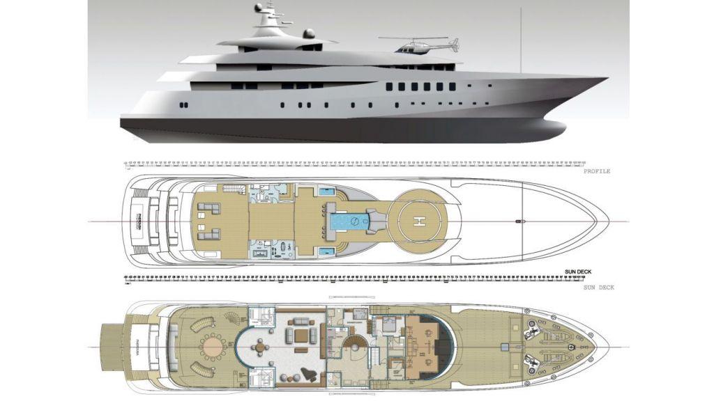 Custom Built Steel Motoryacht (3)
