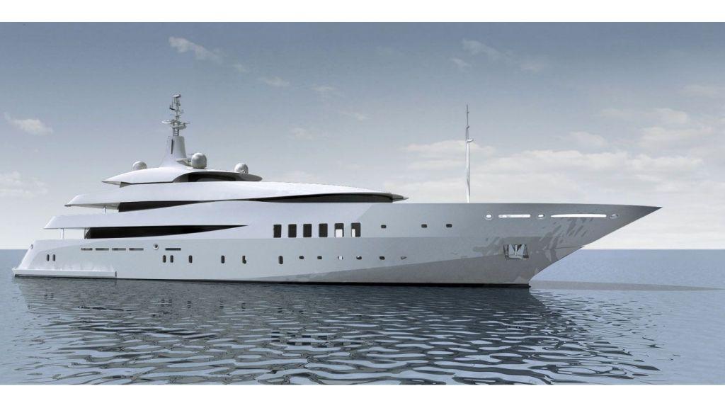 Custom Built Steel Motoryacht master