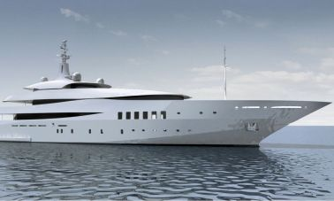 Custom Built Steel Motoryacht master