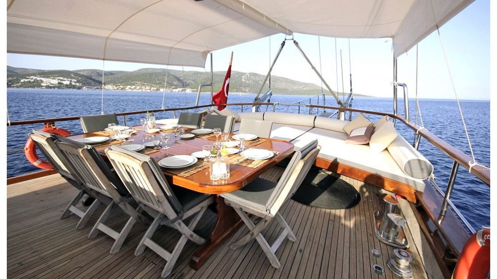 Five Cabins Transom Gulet