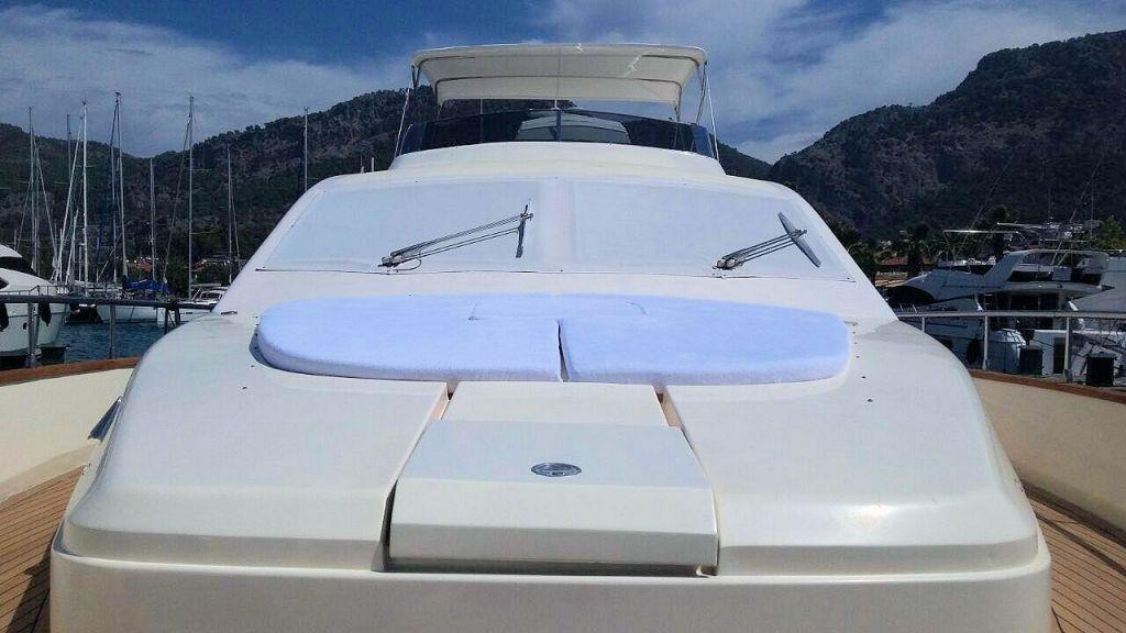 Custom Line Fiberglass GRP Motoryacht (4)