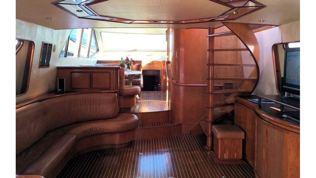 Custom Line Fiberglass GRP Motoryacht (8)