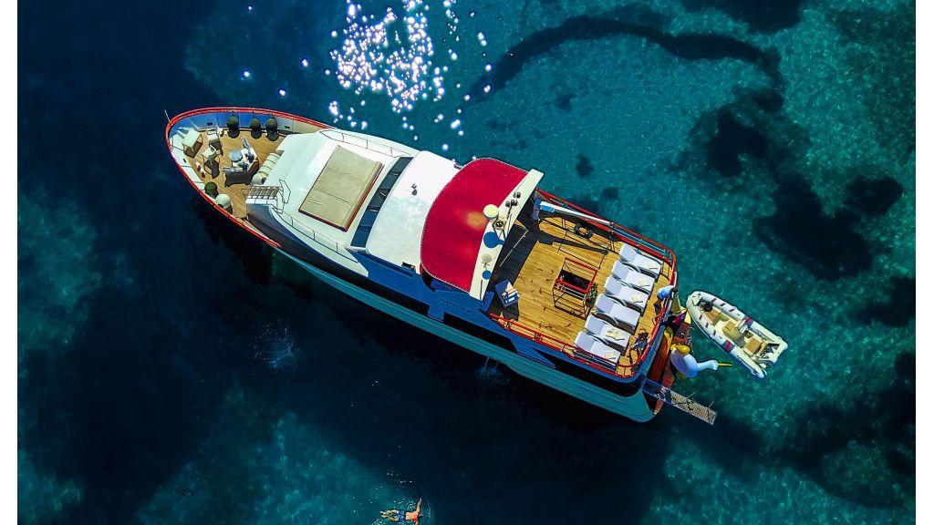 Korab Motoryacht Charter Croatia (2)