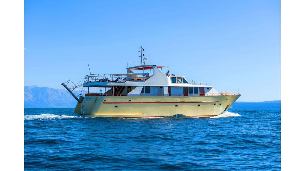 Korab Motoryacht Charter Croatia (9) - master