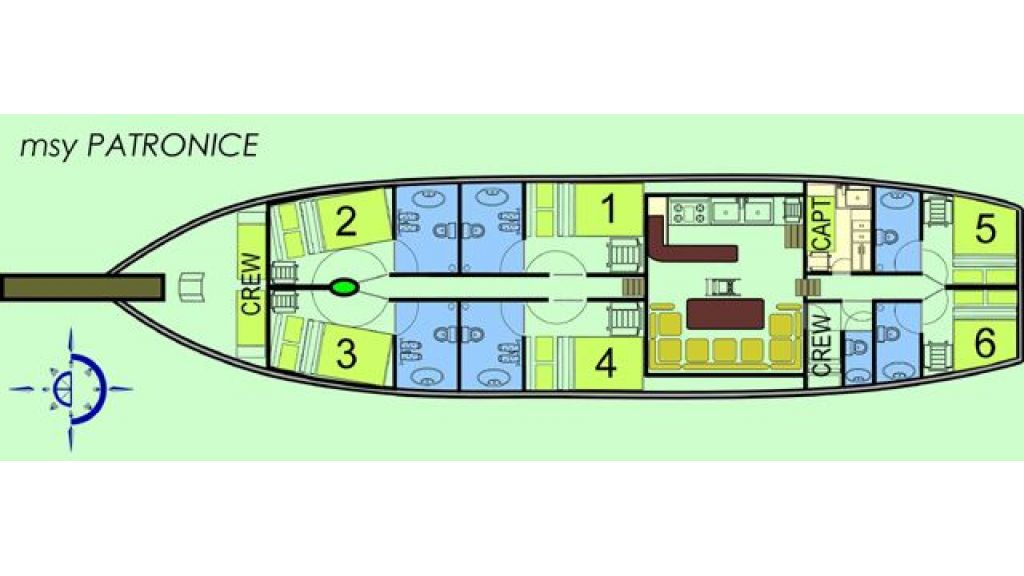 Gulet Patronice (19) - layout