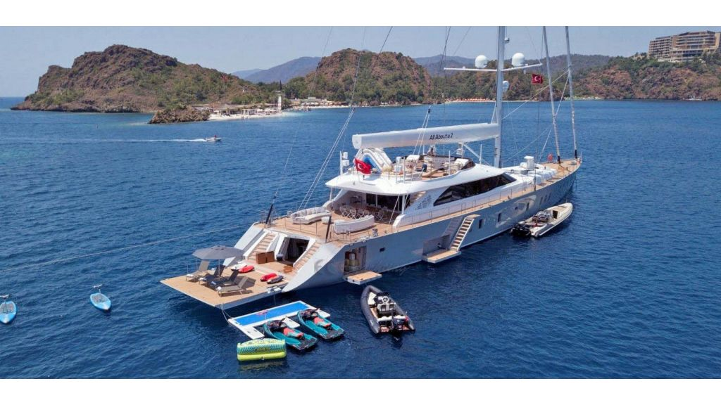 All About U 2 Sailing Yacht