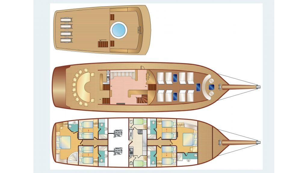 Gul Sultan Luxury Gulet (49)