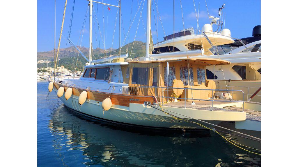 Istanbul Built Sailing Yacht (14)