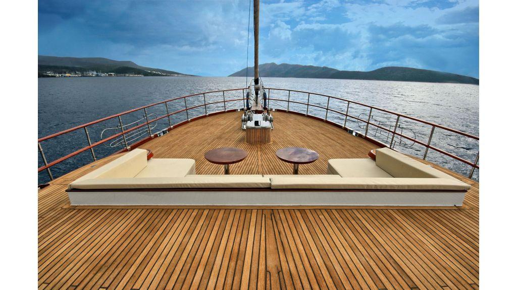 Istanbul Built Sailing Yacht (40)