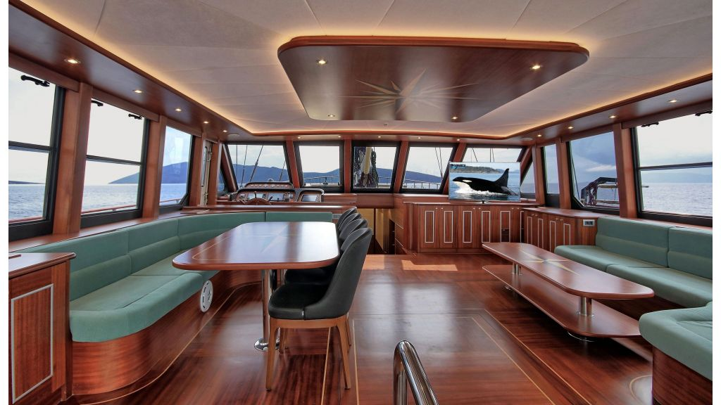 Istanbul Built Sailing Yacht (45)