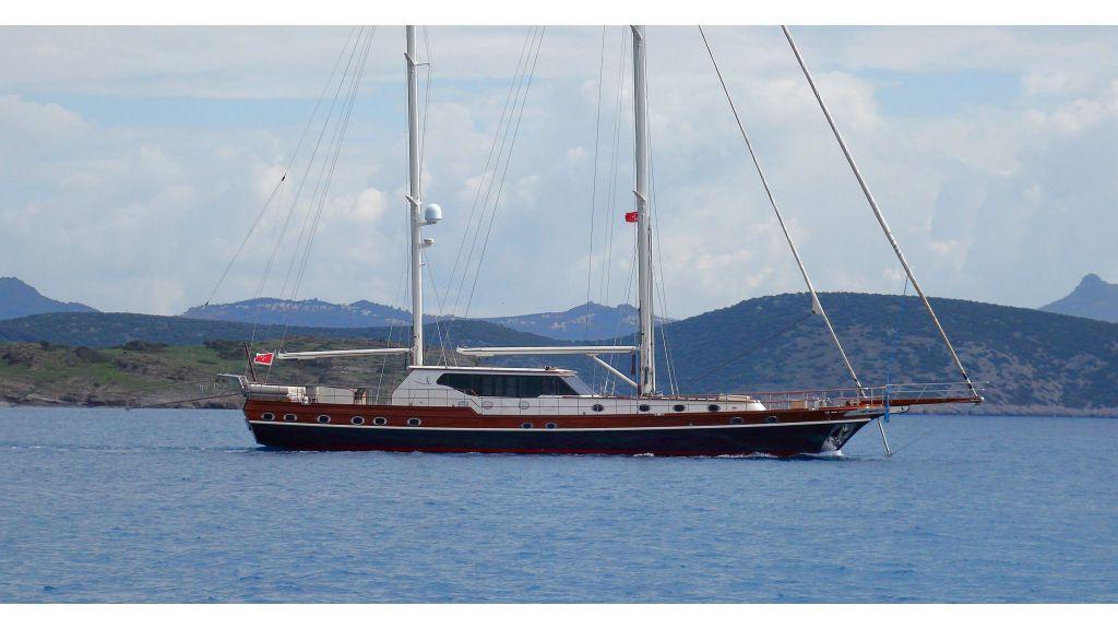 Istanbul Built Sailing Yacht