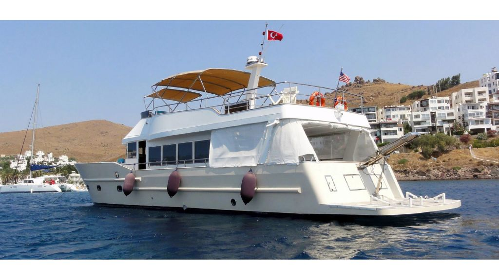 Pilothouse Trawler Motor Yacht (35)