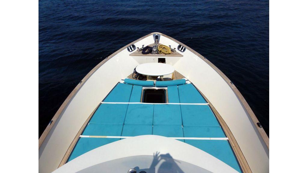 Pilothouse Trawler Motor Yacht master.