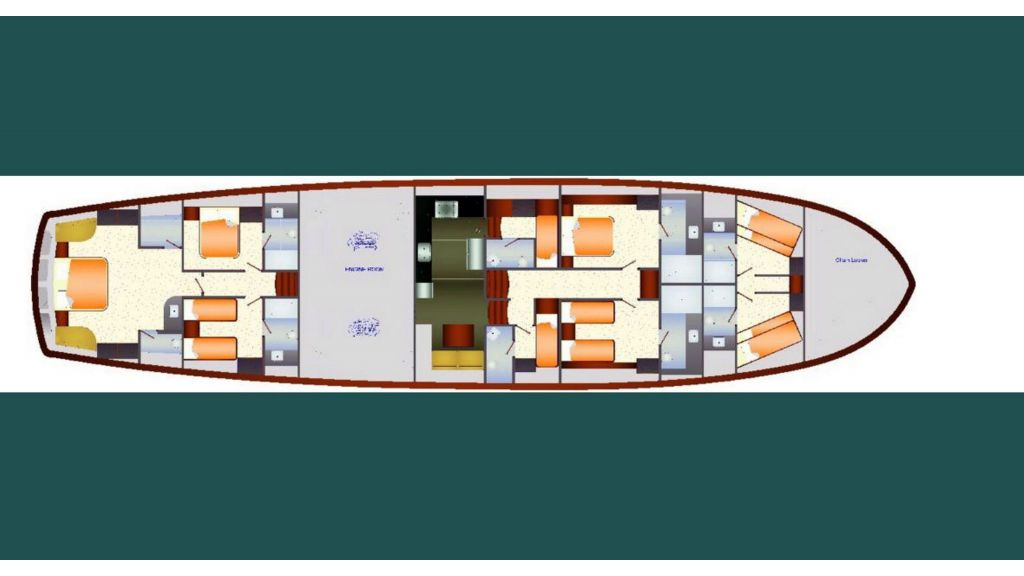 Sailing Yacht layout