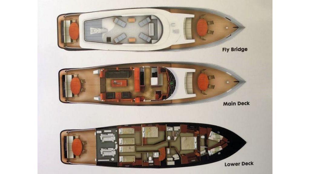 Vanelli Classic Yacht Layout