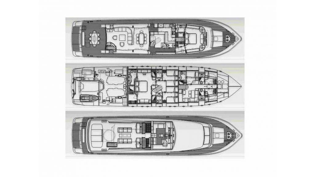 Sanlorenzo 100ft Motor Yacht (49)