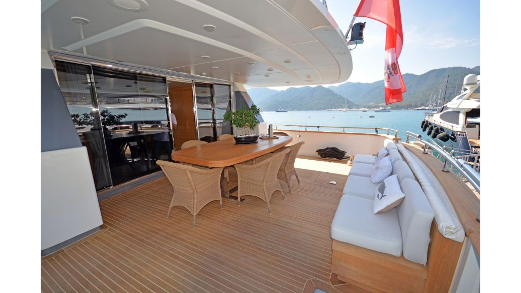 Sanlorenzo 100ft Motor Yacht