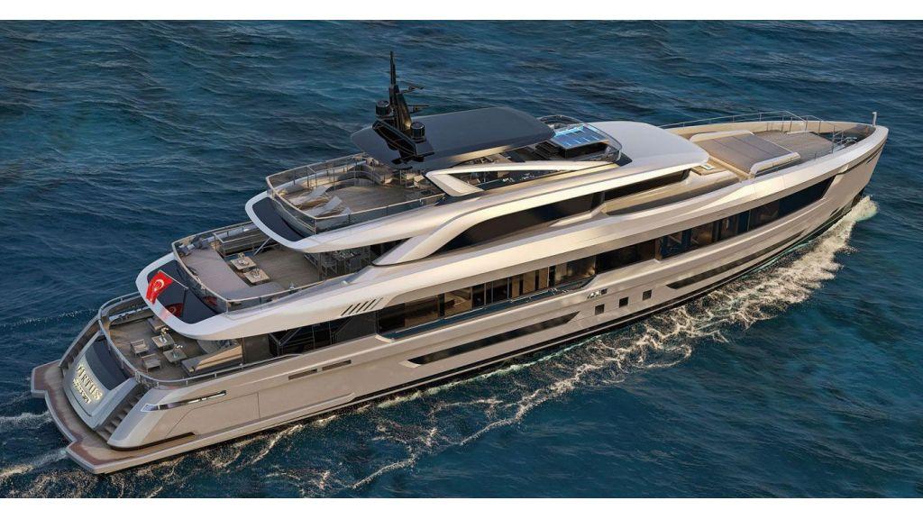virtus 44m motor yacht
