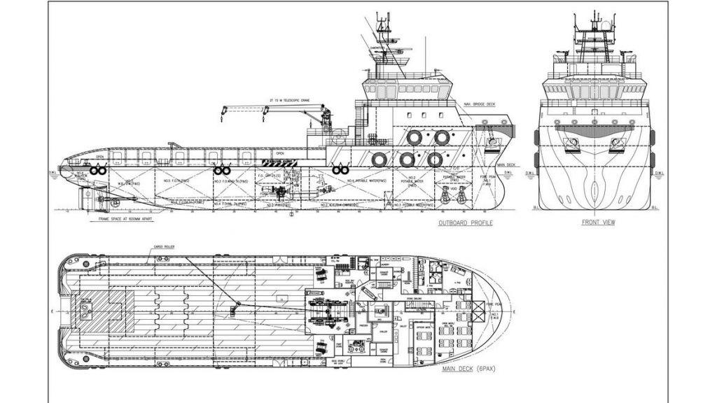 65 M newly built supply Tug (100)