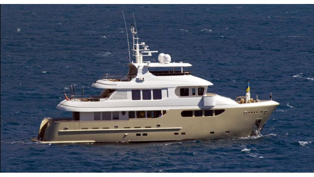 Bandido 90ft Trawler For Sale