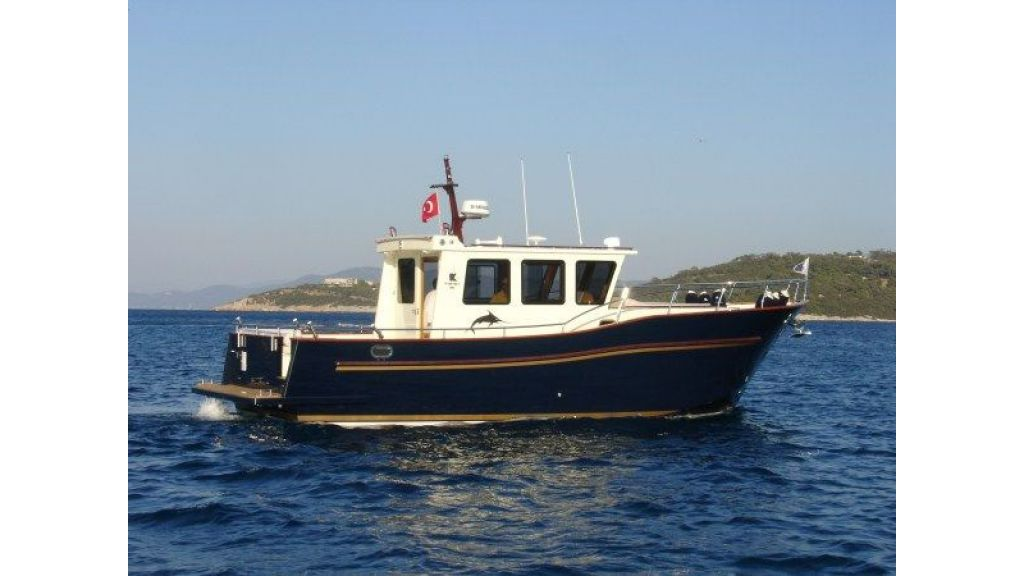 Epoxy Laminated 10,5 meter Trawler 5