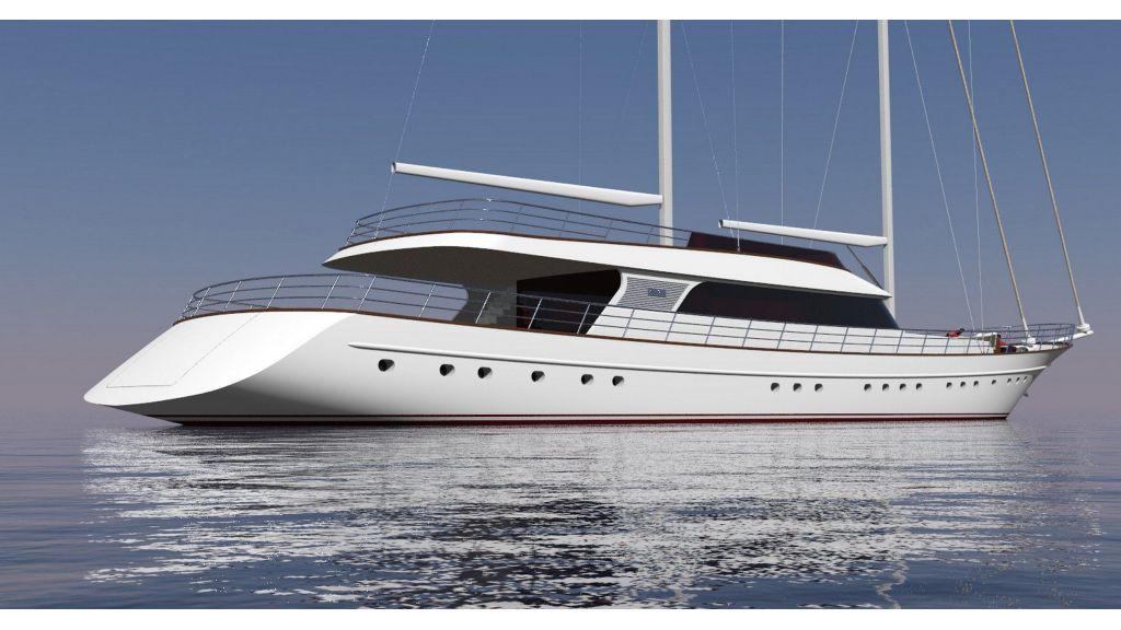Sailing Yacht Lady Gita (2)