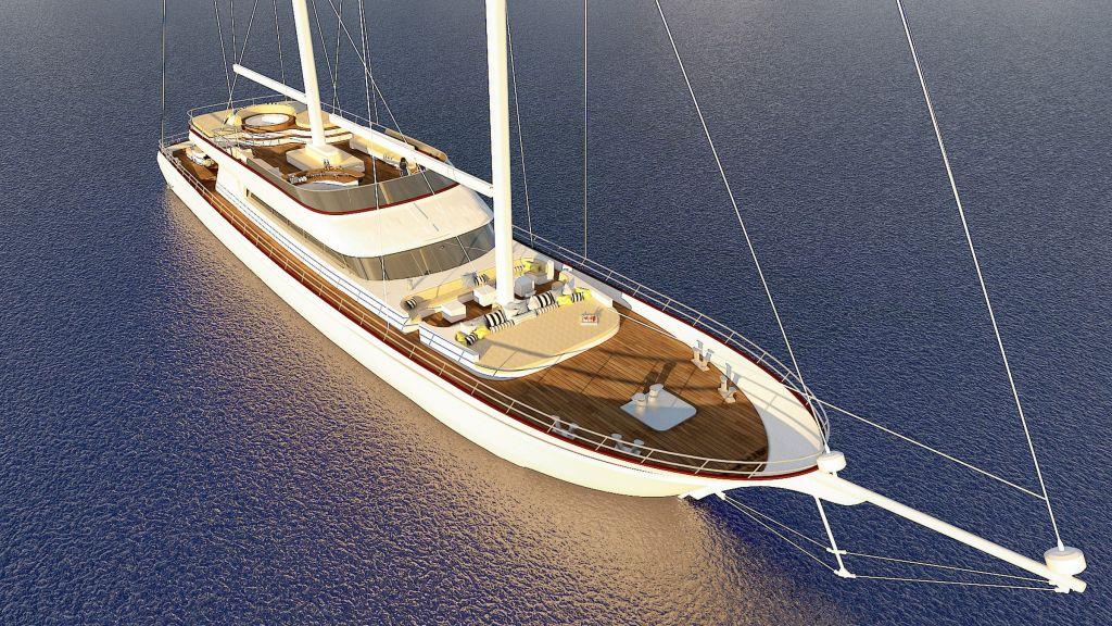 Sailing Yacht Lady Gita