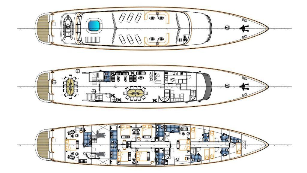 SY Dalmatino (19) - layout