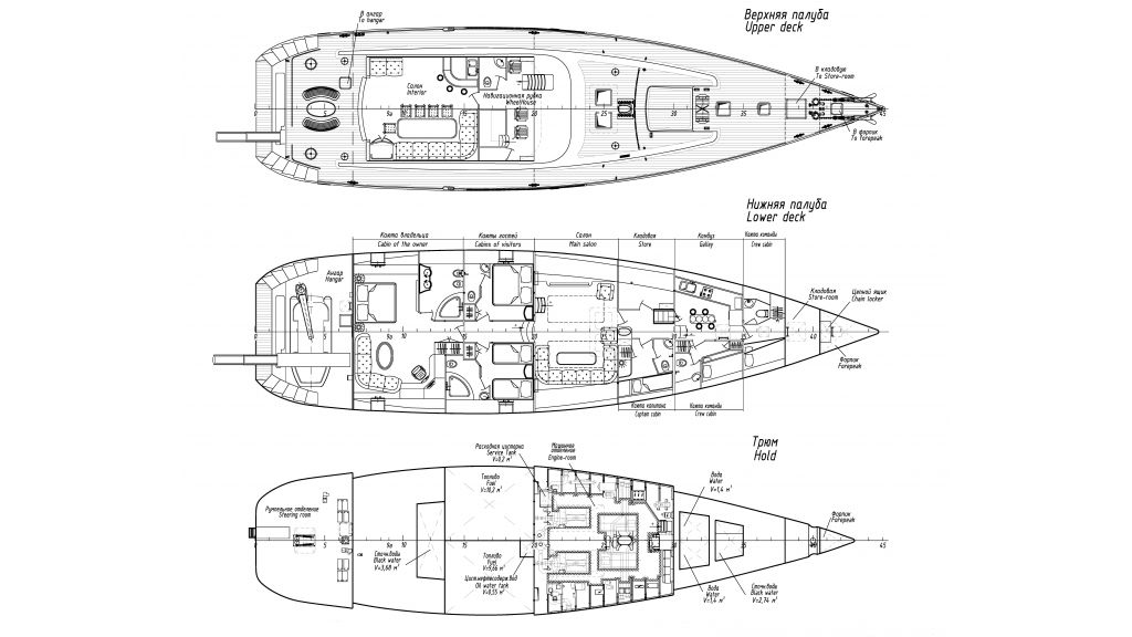 Luxury-Sailing-Yacht-for-Sale - Layout 3