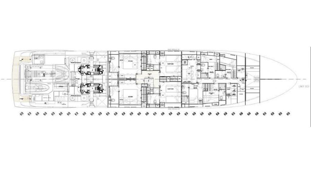 Sanlorenzo Sl 118ft motor yacht (17)