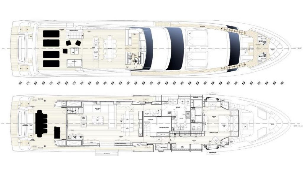 Sanlorenzo Sl 118ft motor yacht (25)