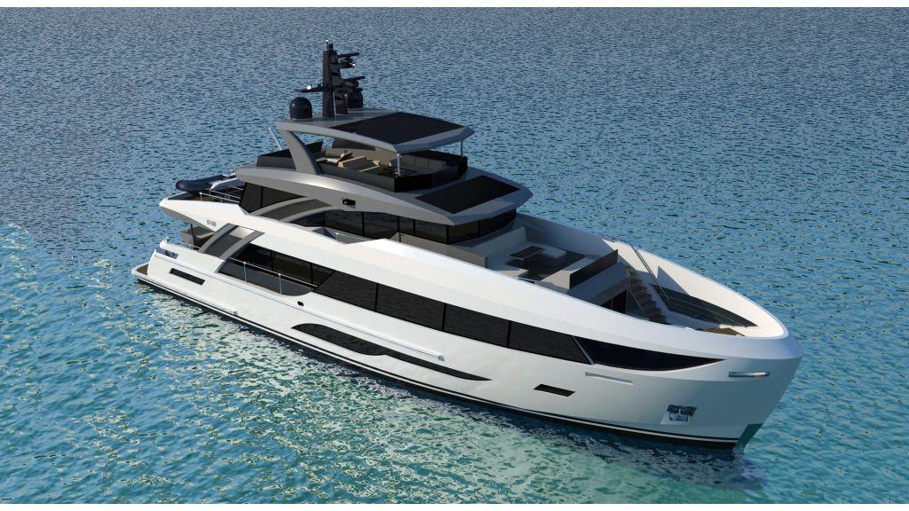 New 32m custom superyacht