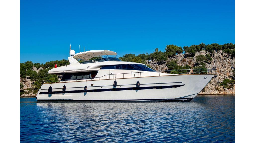 Sanlorenzo 75ft motor yacht (6)