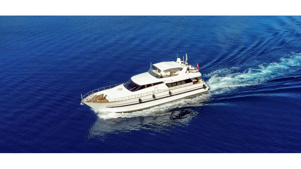 Sanlorenzo 75ft motor yacht master