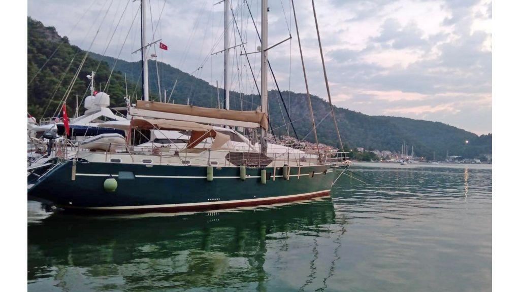 Luxury 2 Cabins Sailing Yacht