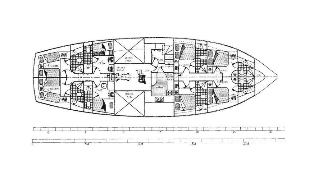 30m Classic Steel Schooner (21)
