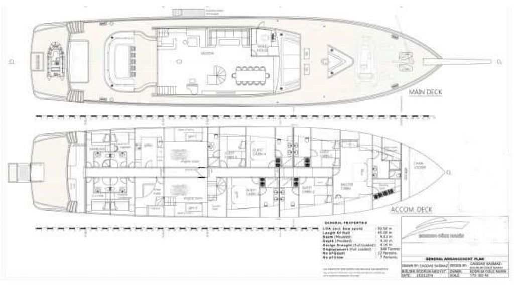50m Steel Sailing Yacht (10)