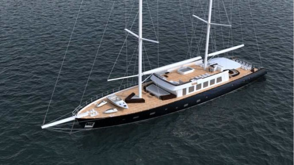50m Steel Sailing Yacht (17)