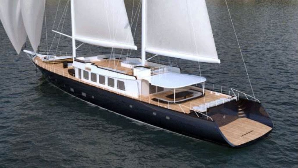 50m Steel Sailing Yacht (18)