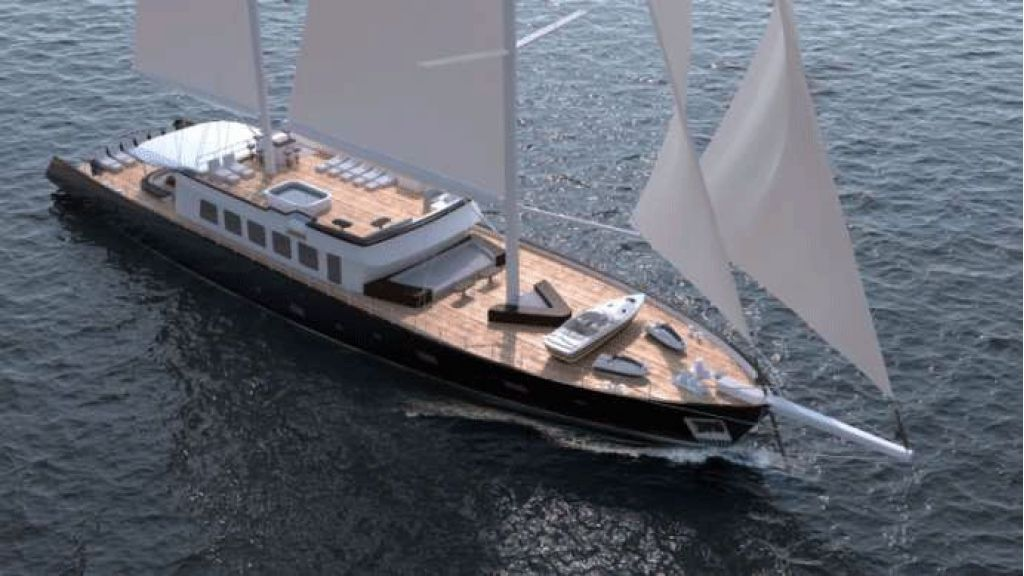 50m Steel Sailing Yacht (19)