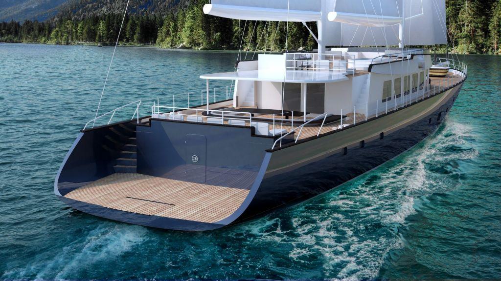 50m Steel Sailing Yacht (6)