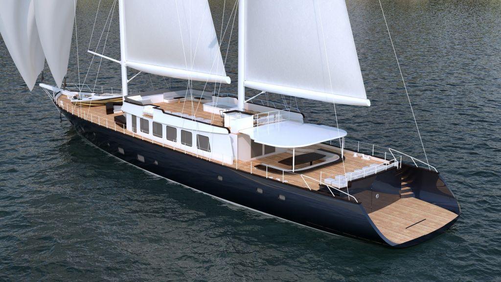 50m Steel Sailing Yacht