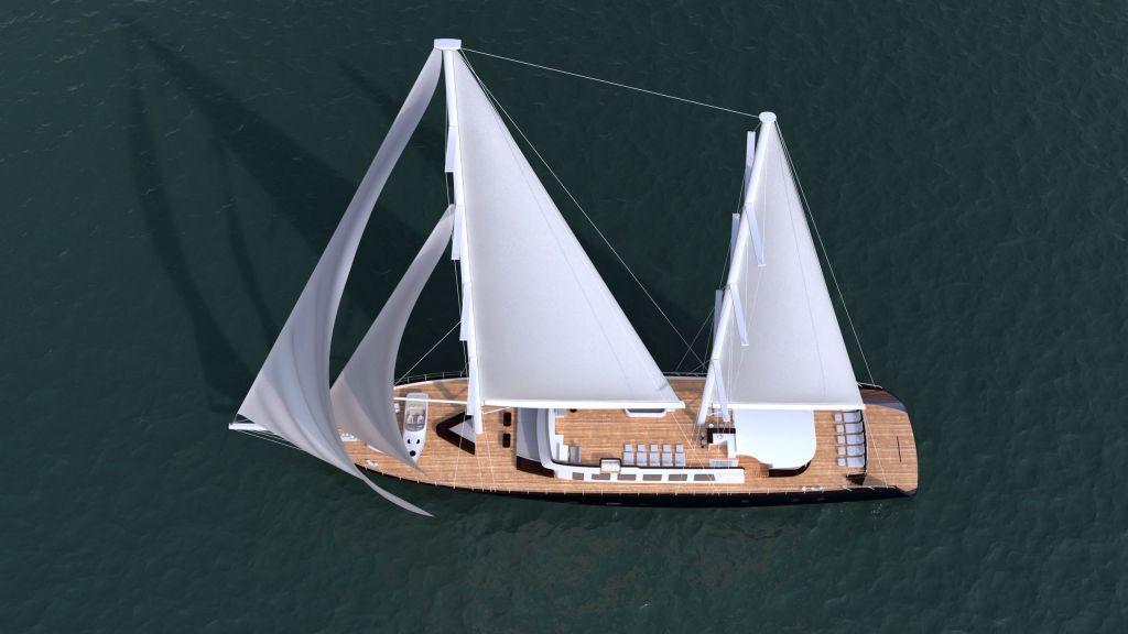 50m Steel Sailing Yacht (8)