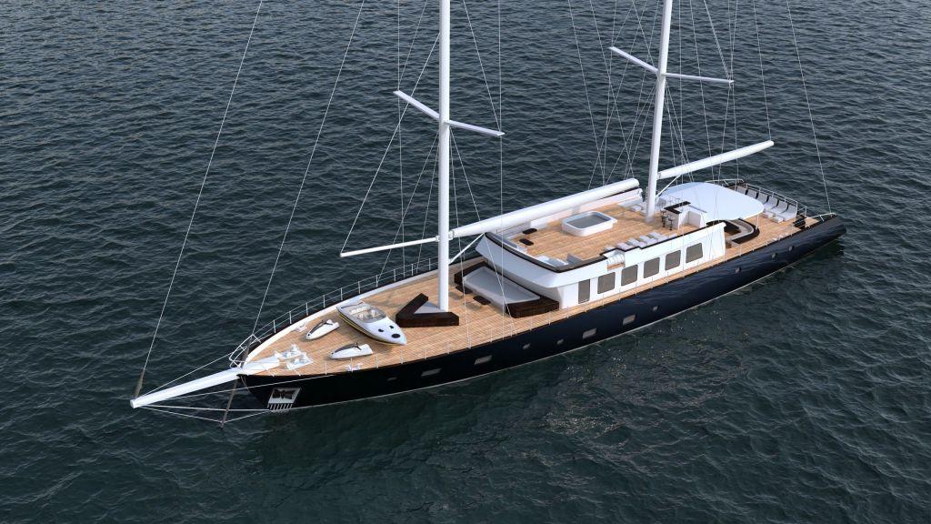 50m Steel Sailing Yacht (9)